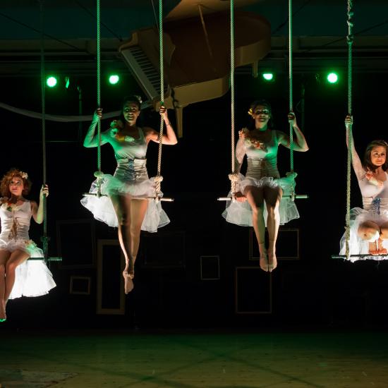corsi per danza su tessuti aerei