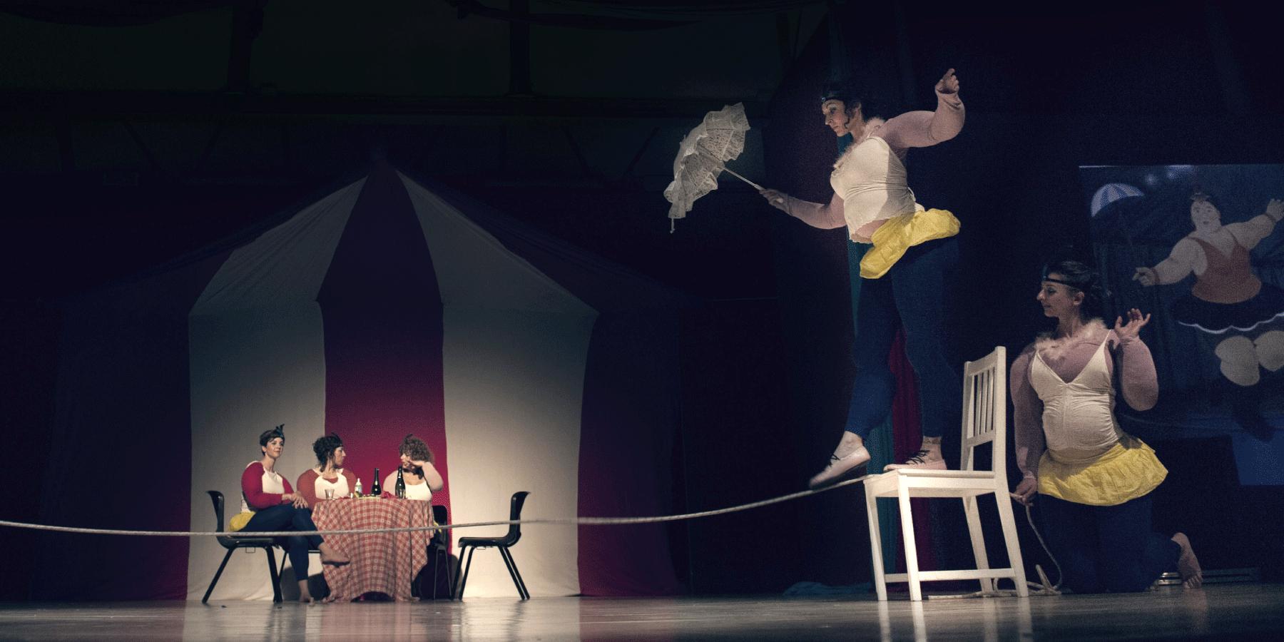 spettacolo teatrale di ballo