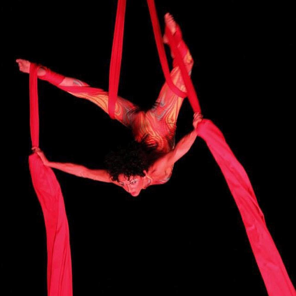 tessuti acrobatica aerea etere